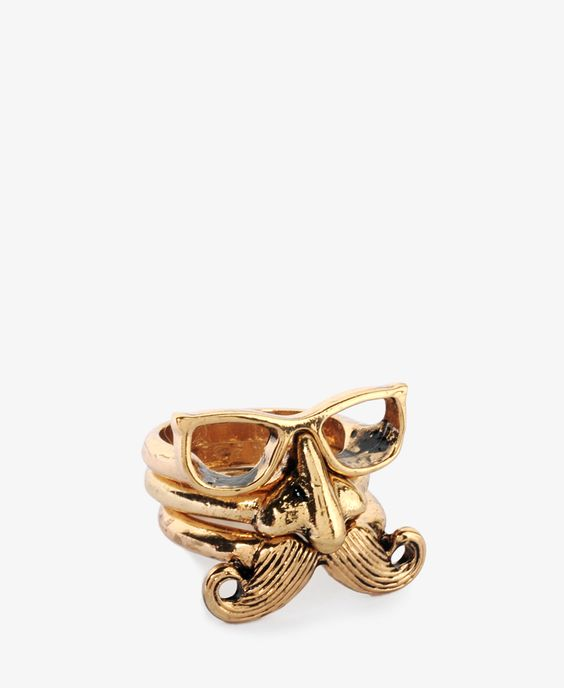 trio of rings that work together or alone. so funny! $5.80