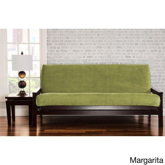 Siscovers Padma Futon Cover Margarita Full Size 7 Deep Green