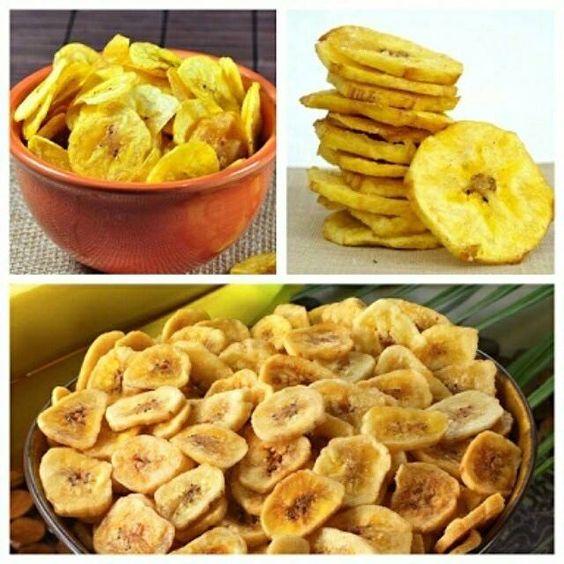 Chips de Banana- Passe Digital