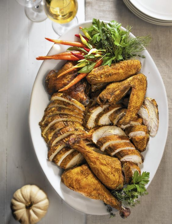 Turkey: Roasted or braised, you decide  Thanksgiving might just be the ultimate potluck. Nearly everyone we know loves this food-centric holiday. Long gone are the days of one person cooking the whole Thanksgiving dinner.  http://www.chicagotribune.com/lifestyles/food/sc-food-1114-dinner-turkey-20141110-column.html