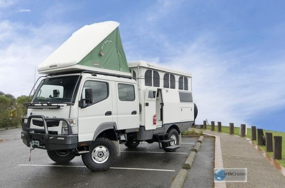 earthcruiser crew cab compact 4x4 on a light truck chassis overland expedition. Black Bedroom Furniture Sets. Home Design Ideas