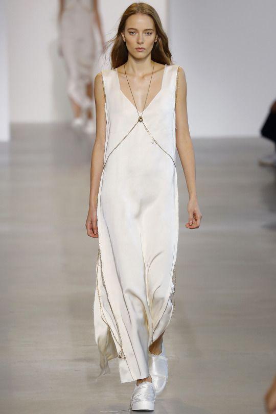 Calvin Klein - New York Fashion Week | Spring Summer 2016 Model: Elena Rei