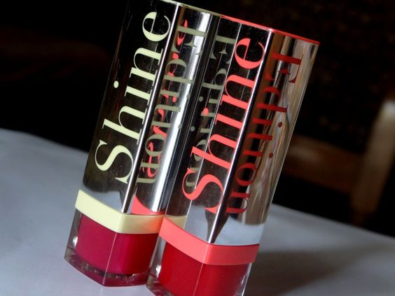 Bourjois Shine Edition Lipstick - Rouge Making Of & Famous Fuchsia