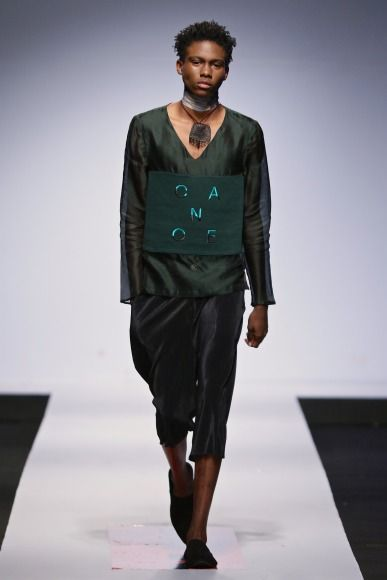 Orange Culture -  Lagos Fashion and Design Week 2015 -  #Menswear #Trends #Tendencias #Moda Hombre