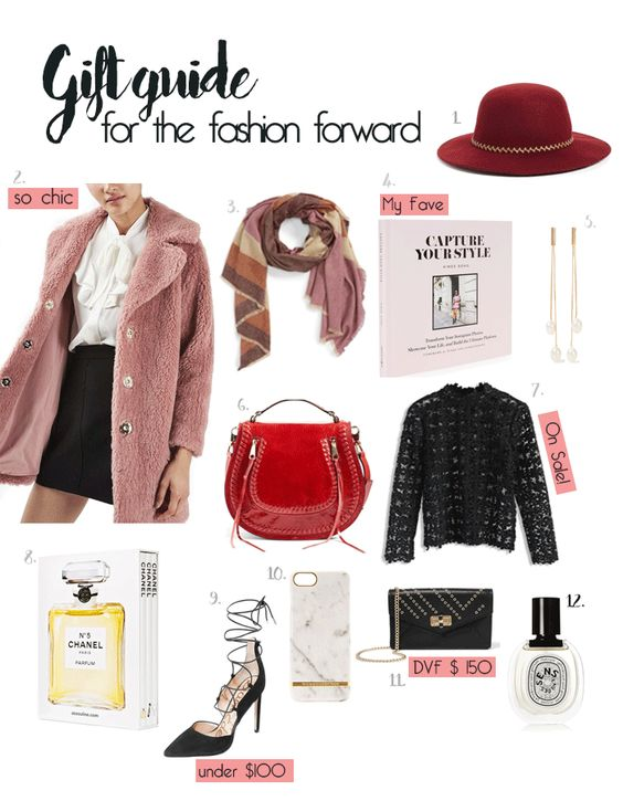 Gift Guide For The Fashion Forward