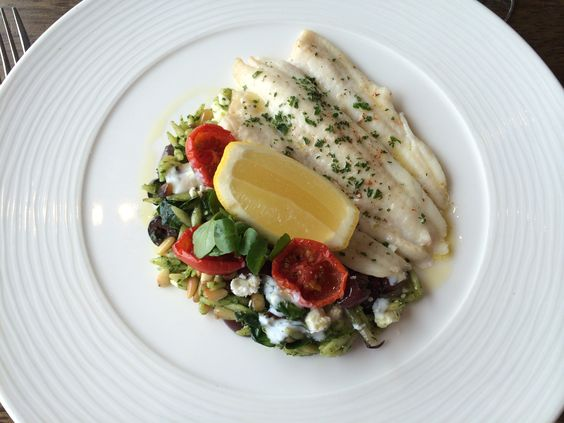 Lovely lemon sole