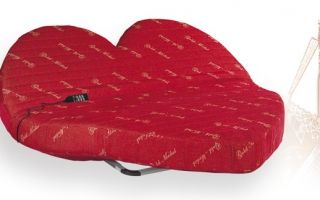Lit coeur moulin rouge walterbed