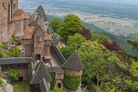 Visit Château du Haut-Kœnigsbourg, France - TripBucket