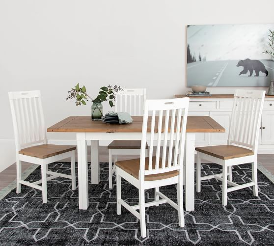 Hart Reclaimed Wood Extending Dining Table In 2020 Dining Table