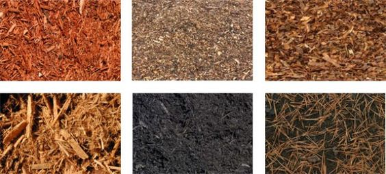 Types Of Mulch For Landscaping   organic mulch types. Proper mulching is essential.