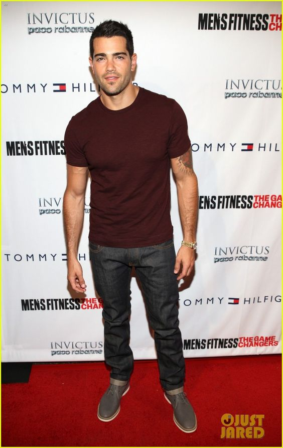 Jesse Metcalfe at Men's Fitness.