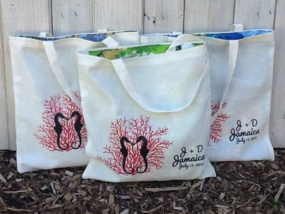 100 LINED Custom Canvas Wedding Welcome Tote Bags - Eco-Friendly Natural Cotton Canvas on Etsy, $950.00