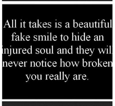 Fake smile, Dying inside and Smile on Pinterest  Fake smile, Dyi...