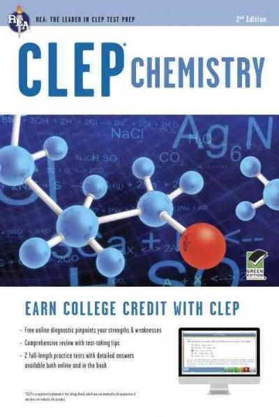 Earn College Credit with REA's Test Prep for CLEP Chemistry Everything you need to pass the exam and get the college credit you deserve. CLEP is the most popular credit-by-examination program in the c