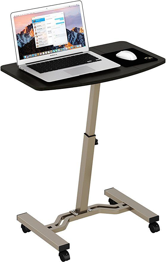 Shw Height Adjustable Mobile Laptop Stand Desk Rolling Cart Portable Laptop Desk Laptop Stand Laptop Desk