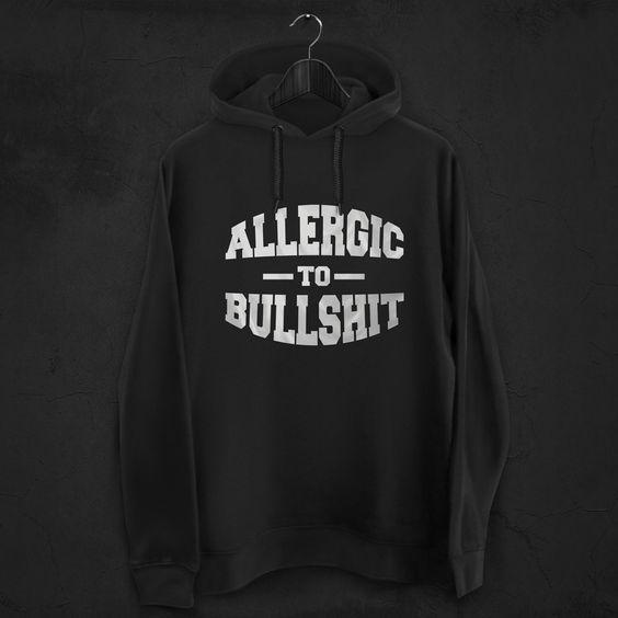 Allergic to bullshit! 😎 #zizimut #funnytshirts #tshirts #hoodies #sweatshirt #giftshops #personalizedgifts #personalizadas #porto🇵🇹 #tshirtshop #swag #fashion #badboy #bullshit