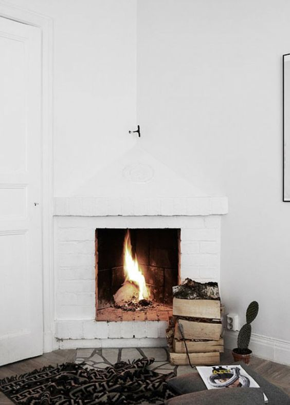 B ches de bois comment bien les ranger autour de la chemin e maison li - Comment demonter une cheminee ...