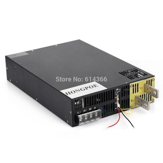 Free Shipping Ac110 Or 230v 3000w 68v44a Dc 0 68v Power Supply 68v 44a Ac Dc High Power Psu 0 5v Analog Signal Control Analog Signal Power Supply Acdc