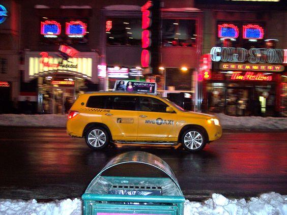 I wonder if it's the Cash Cab!!!