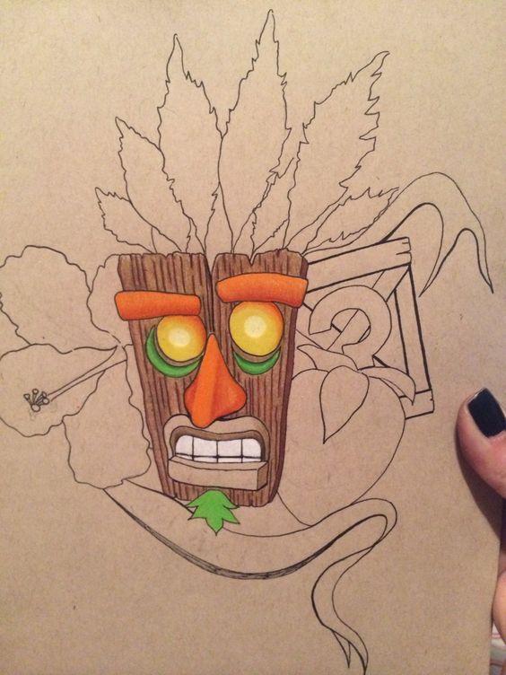Pinterest the world s catalog of ideas for Crash bandicoot tattoo