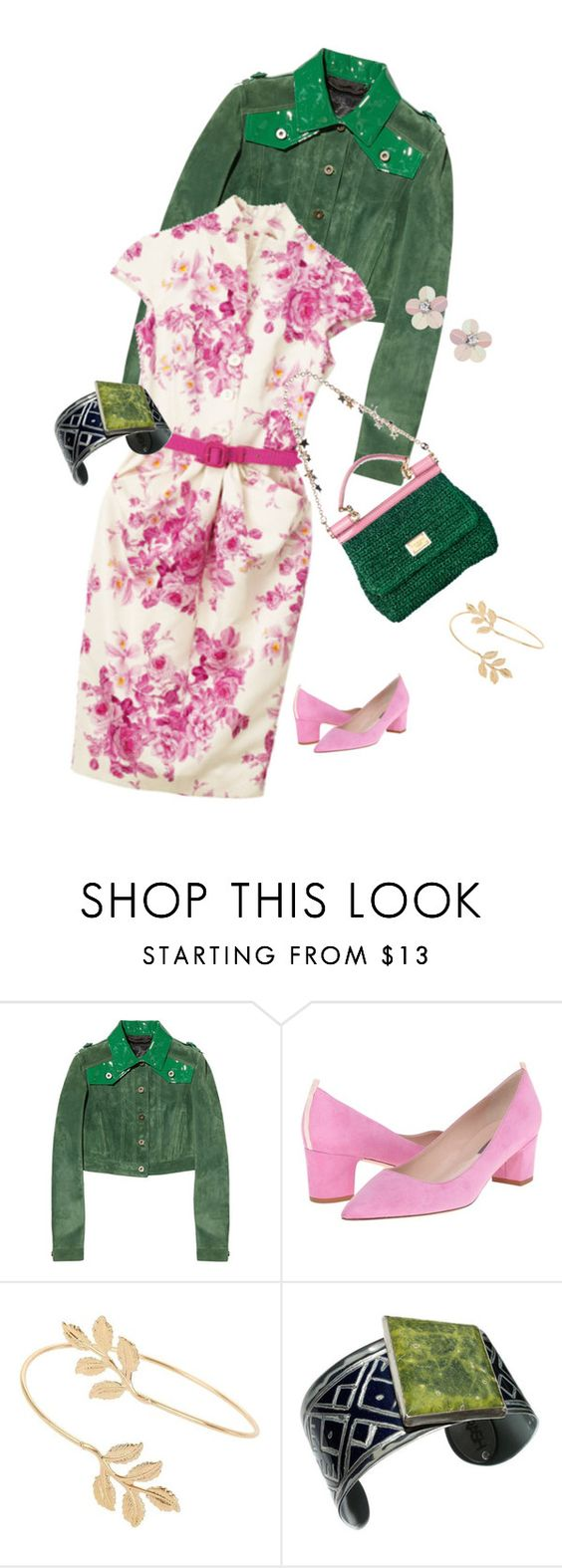"""""""Untitled #645"""" by clothes-wise ❤ liked on Polyvore featuring Burberry, Christian Dior, Dolce&Gabbana, SJP and Miss Selfridge"""