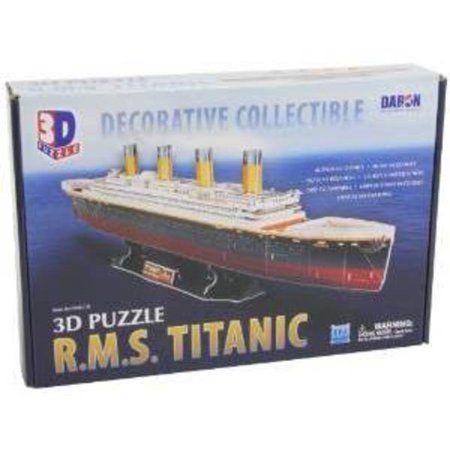 titanic 3d puzzle 113 pieces