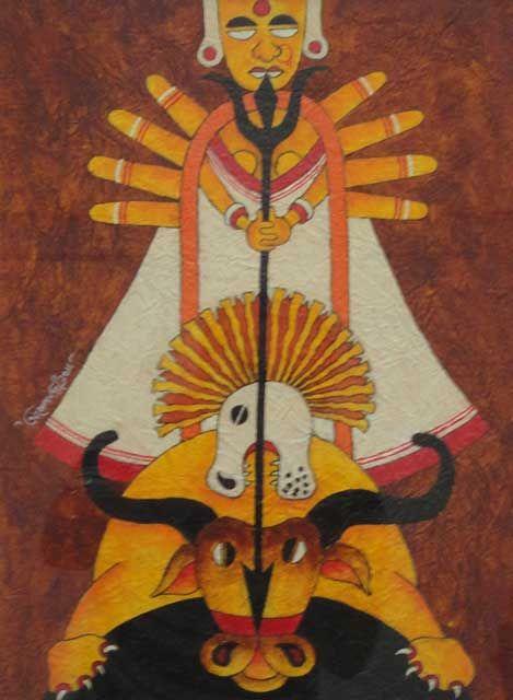 Artist Ashok Kumar Dey ... Mirage Art Gallery