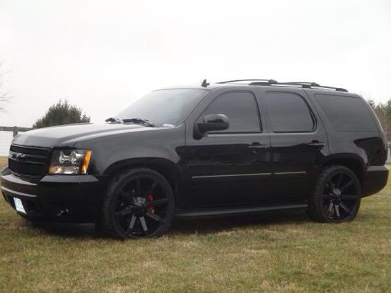 2010 chevrolet tahoe blacked out cars and trucks. Black Bedroom Furniture Sets. Home Design Ideas