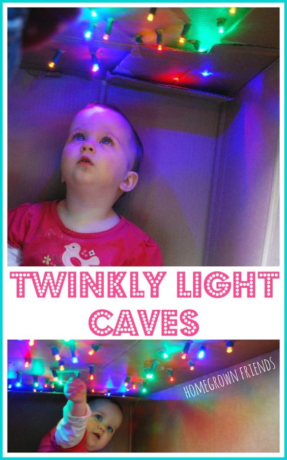 create a magical space for your child with twinkly light caves!