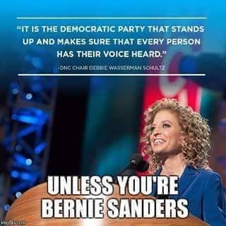 Why does Debbie Wasserman Schultz still retain her position? When is enough, enough? #DWSresign #wewantdebate #enoughisenough