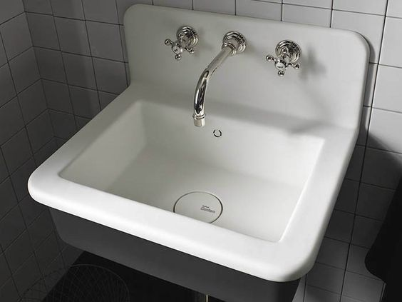 Building. Lavabo in Corian  Corian  INDUSTRIAL LOFT ENERGY by DuPont de