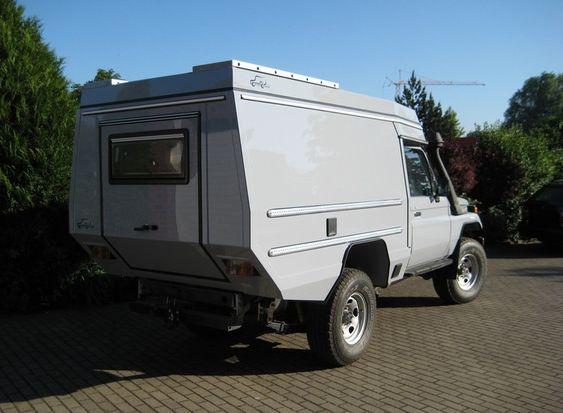 Custom Campers - Toyota HZJ78