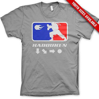 Kid's Hadouken! street fighter shirt