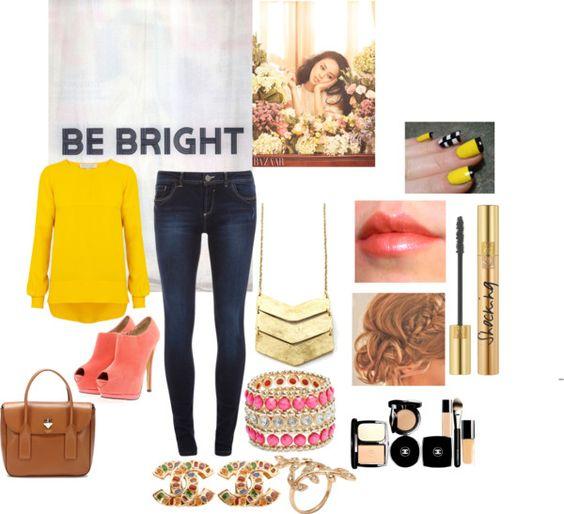 """Shine Bright :)"" by kaytexoxo ❤ liked on Polyvore"