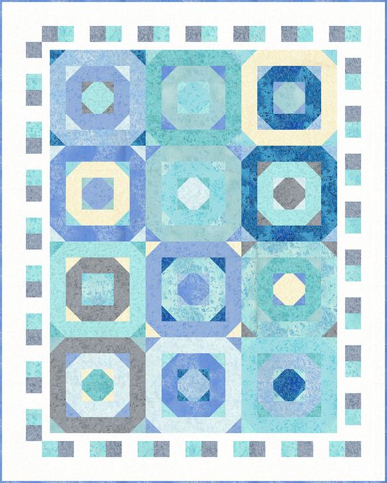 Octagon Quilting Templates : octagon alley quilt Octagon Alley quilt Pinterest Quilt, Free Pattern and Star Quilts
