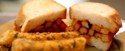 Home made Fish_Fingers_with_a_Chip_Butty Gordon