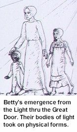 Betty Andreasson - near-death experience from alien abduction