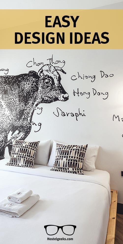We at Hostelgeeks decided to collect cool hostel design ideas. Creative ideas that you can simply steal from Hostels (or, well, borrow!) for your own good. When it comes to design, there is no doubt that the 5 Star Hostels know how to do it. After all, th
