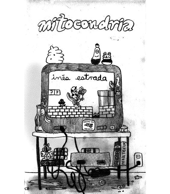 Mitocondria - by Inés Estrada