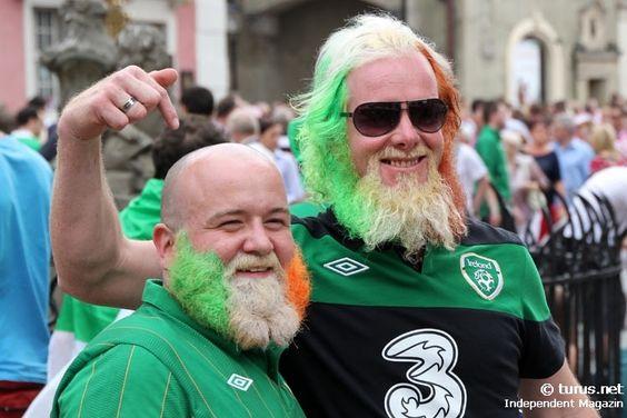 Irish Fans in Poznan EM 20120