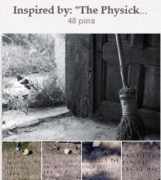 """FIRST PLACE WINNER ---> Inspired by: """"The Physick Book of Deliverance Dane"""", submitted by Jenelle Clark"""