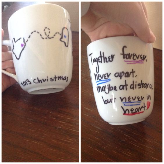 Diy Best Friend Mug Made It For My Cousin For Christmas