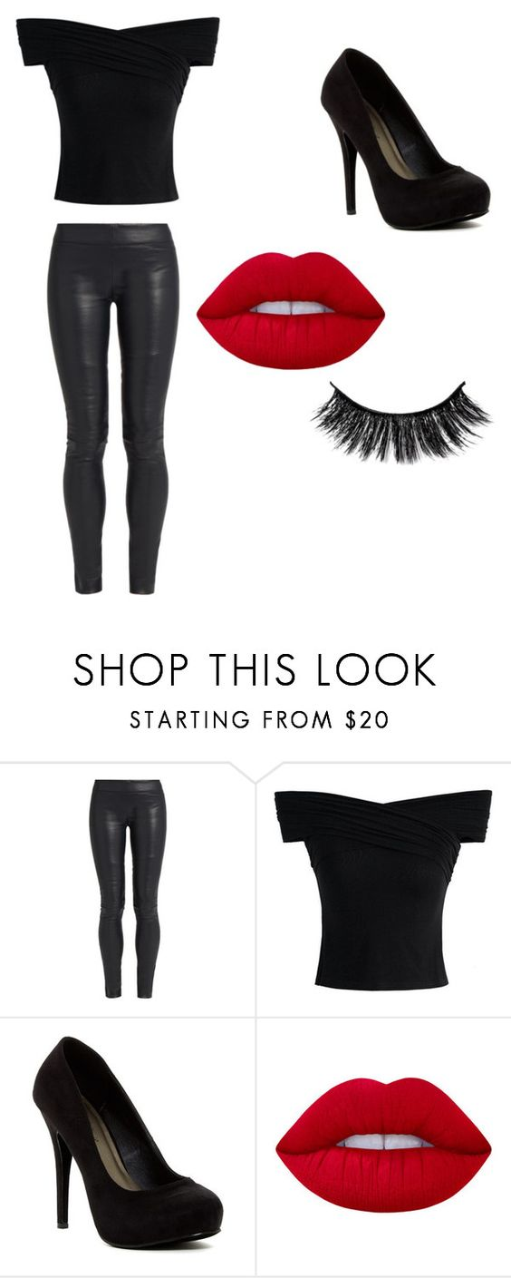 """""""Sandy (Grease Costume/Cosplay)"""" by masqueradedarling ❤ liked on Polyvore featuring The Row, Chicwish, Michael Antonio and Lime Crime"""