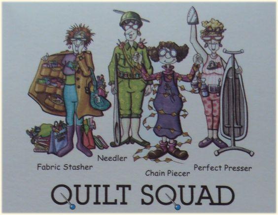 Quilt Squad.