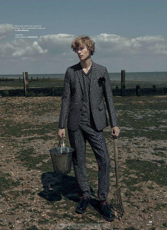Male Fashion Trends: Sven de Vries por Onin Lorente para Esquire Singapur