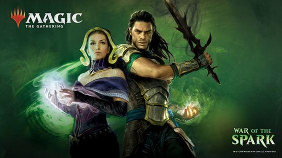 "War of the Spark: Wizards libera trailer que ""resume"" o prólogo de Guerra das Centelhas! | Blog Aquela Geek #aquelageek #mtg #cardgames #cardgame #aquelageek #geek #magic #games #magicthegathering #wizards #wotc #wizardsofthecoast #mtgstandard #deck"