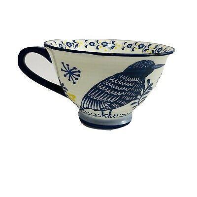 Anthropologie Saga Blue Bird Father Round Coffee Tea Cup Mug 10oz Made In China In 2020 Coffee Tea Cups Tea Cups Mugs