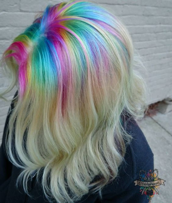 Kasey O'Hara Skrobe Vivid color specialist MD  For appt4108486234 call only B3 artist Pulp riot mermaid Independent Educator