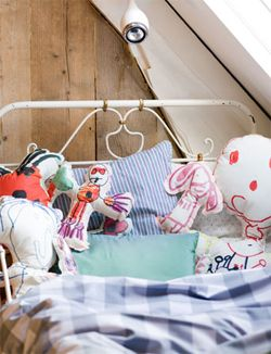 make stuffed animals out of your kid's drawings