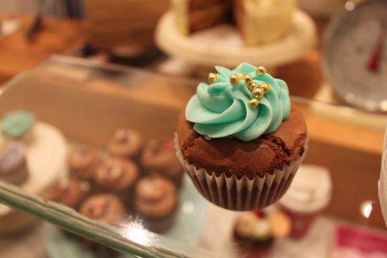 brownie cupcake, barcelona